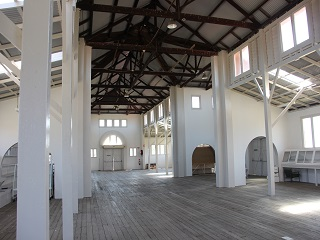Main Pavilion interior